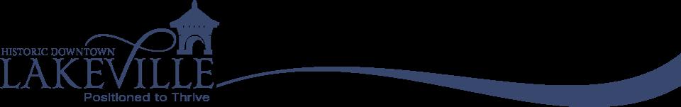 Downtown Lakeville Logo Banner