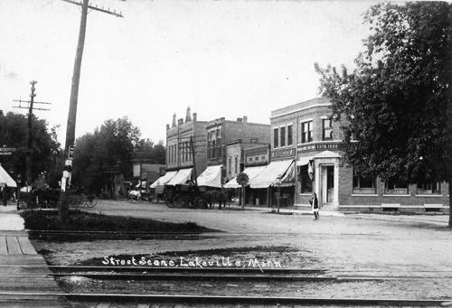 Historic Downtown Lakeville, Minnesota
