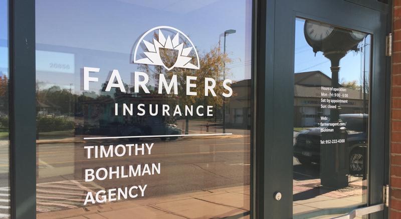 Timothy Bohlman Farmers Insurance