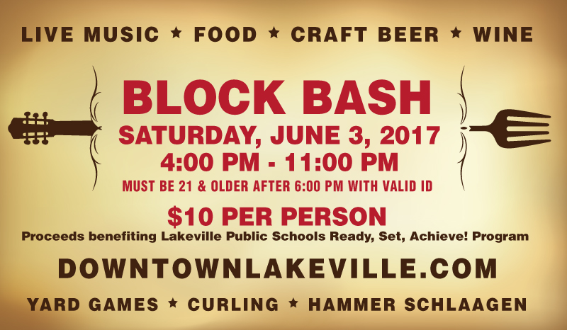 Block Bash 2017 - Downtown Lakeville