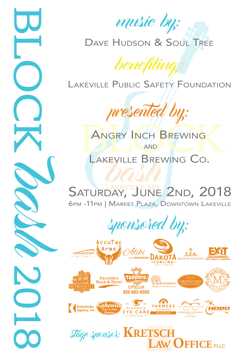 Block Bash June 2, 2018