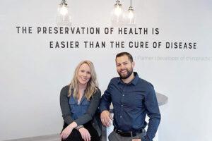 Dr. Nick Lee,Dr. Brielle Egilson, Elighten Chiropractic